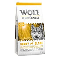 100 % grain-free recipe. Suitable for dogs with grain allergies Enriched with fruits of the forest (mixed berries), wild herbs and roots No artificial preservatives, colours or aromas Lots of fresh meat (min. 41%), easy to digest, well accepted High ...