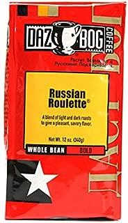 Dazbog Coffee, Russian Roulette 12 Oz. Whole Bean