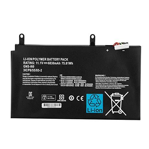 Hubei GNS-I60 GNS-160 961TA010FA 31CP6/55/85-2 Laptop Akkus für GIGABYTE P35K P37X P57X P35G P35N P35W P35X P37K P37W P57W Series(11.1V 75.81WH)