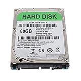 B Baosity 250GB HDD Interno Disco Duro Mecánico de Alto Rendimiento, SATA 2 8M, 2.5 Pulgadas - 80GB