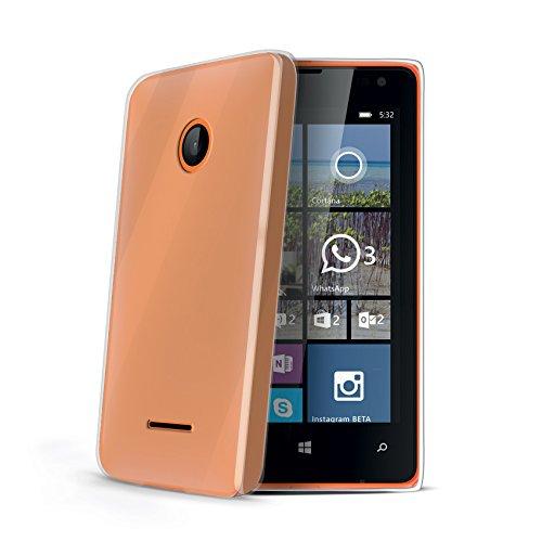 Celly Cover in TPU Gel per Nokia Lumia 532, Trasparente
