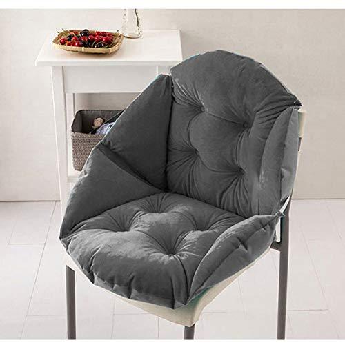 TINA zachte pluche schelp vorm stoel kussen, waterdichte warme billen Seat Pad Office Home slaapkamer Lumbar rug ondersteuning kussen