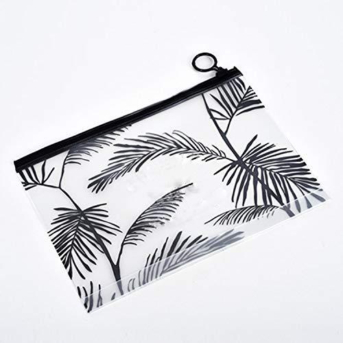 DKHF Cosmetic bag Ladies Transparent Waterproof Cosmetic Bag Cosmetic Bag Box Wash Storage Bag
