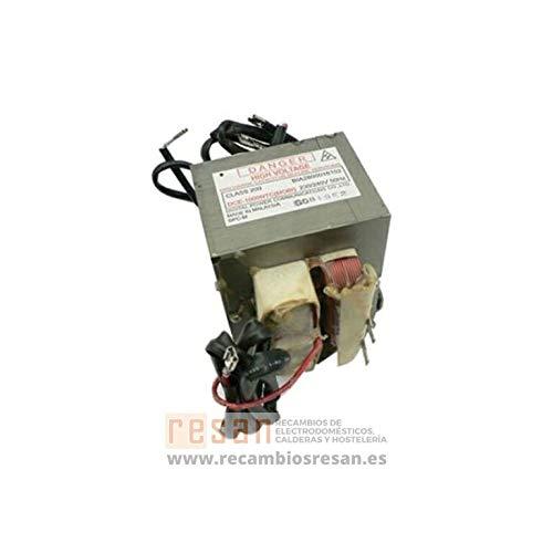 Transformateur Haute Tension Dw950ntc Référence : 481214538041 Pour Micro Ondes Whirlpool