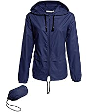 Regenjas voor dames, waterdicht, licht, ademend, lange mouwen, dun, met capuchon