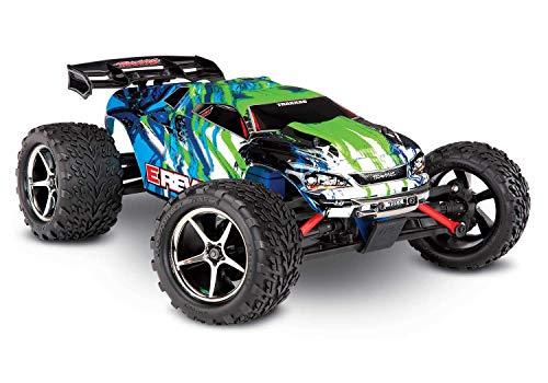 Traxxas E-Revo 4x4 Grün Brushed 1:16 RC Modellauto Elektro Monstertruck Allradantrieb (4WD) RTR 2,4 GHz