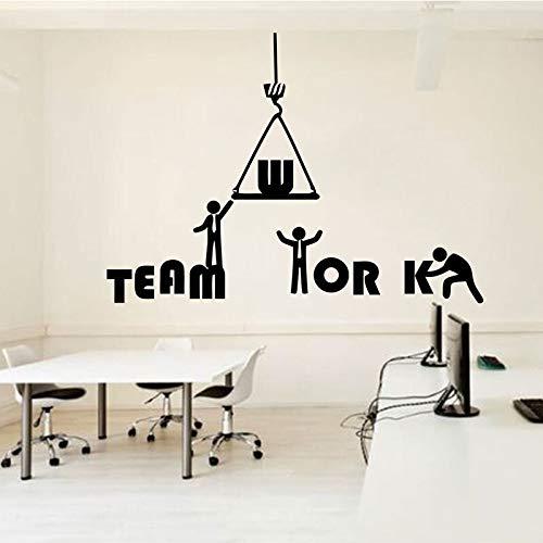 Tianpengyuanshuai kantoorstickers, muurstickers, idee, teamwerk, decoratie, kantoor
