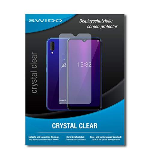 SWIDO Schutzfolie für Allview Soul X6 Mini [2 Stück] Kristall-Klar, Hoher Festigkeitgrad, Schutz vor Öl, Staub & Kratzer/Folie, Glasfolie, Bildschirmschutz, Bildschirmschutzfolie, Panzerglas-Folie