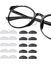 12 paar zelfklevende neuspads anti-slip siliconen bril pads voor glazen zonnebril bril
