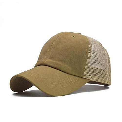 Baseball Cap 17 Farben Baseball Mützen Männer Frauen Male Hip Hop Hut Papa Hut Sommer atmungsaktiv Mesh Unisex Streetwear Os Größe 55-6