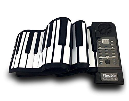 Sheny ハンドロールピアノ (88鍵) 持ち運びロールピアノ くるくる巻けてコンパクト!