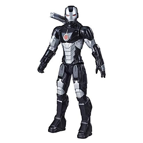 Marvel Avengers Titan Hero Serie Blast Gear War Machine Action-Figur, 30 cm großes Spielzeug, inspiriert vom Marvel Universum, Für Kinder ab 4 Jahren