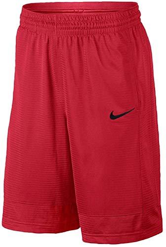 Nike Men's Fastbreak Basketball Shorts (University Red/Black, Medium)