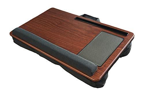 GUS DESIGN LaptopunterlageLapdesk Geeignet fur BettCouch inkl Mousepad Handgelenksauflage und TabletHandyhalter mit Laptopkissen Geeignet fur max 17 Zoll Notebook