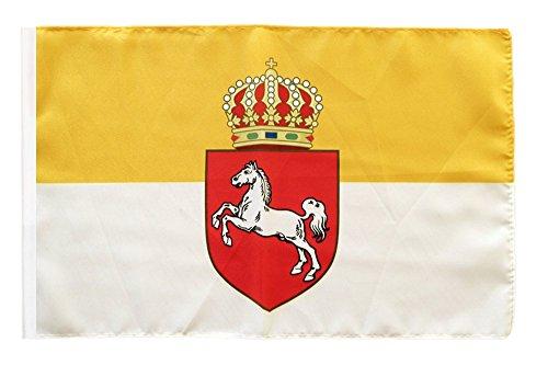 Flaggenfritze® Flagge Deutschland Königreich Hannover 1814-1866 - 30 x 45 cm