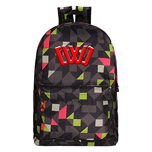 CHICLI Kids/Youth CWC Chad_Wild_Clay Backpack Student Bookbag Laptop Bag Travel Computer Bag for Boys Girls Teens