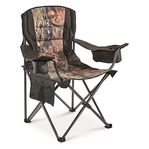Guide Gear Oversized Camp Chair, 500-lb.Capacity, Mossy Oak Country Camo