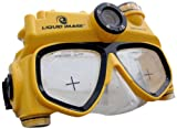 Liquid Image 3.1MP Explorer Series Camera Mask (Yellow/Black, Mid Size)