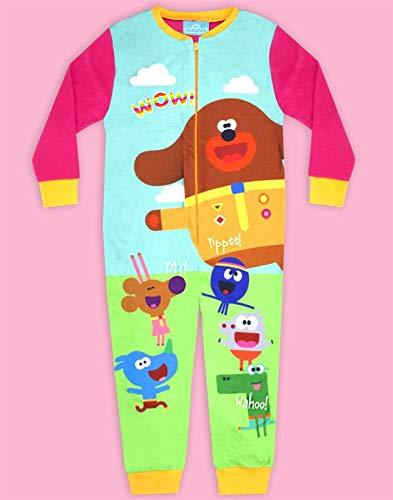 Hey Duggee Squirrel Club Girl's Pink Onesie Kid's Sleep Suit