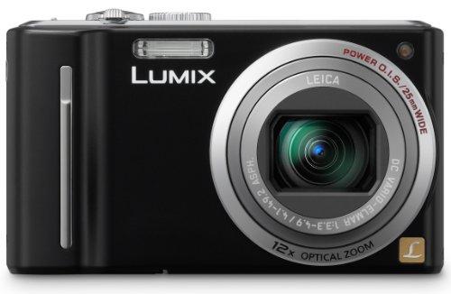 Panasonic Lumix DMC-TZ8EG-K Digitalkamera (12 Megapixel 12-fach opt. Zoom, 6,7 cm (2,7 Zoll) Display, Bildstabilisator) schwarz