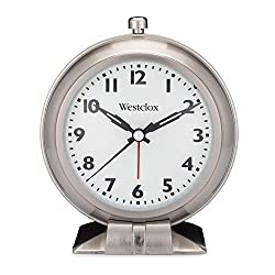 Westclox Analog Metal Big Ben Alarm Clock Silver