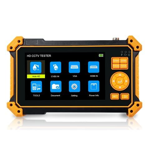 Nueva llegada 5 'HD3100 monitor CCTV monitor CCTV tester 8MP AHD CVI TVI CVBS tester de cámara VGA entrada HDMI salida DC12V