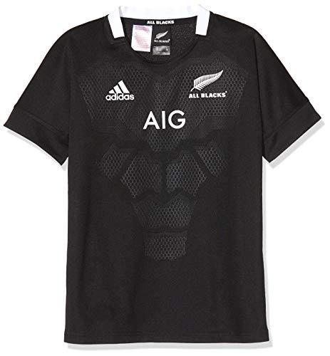 adidas AB H JSY Y T-Shirt Mixte Enfant, Black, FR : S (Taille Fabricant : 7-8Y)