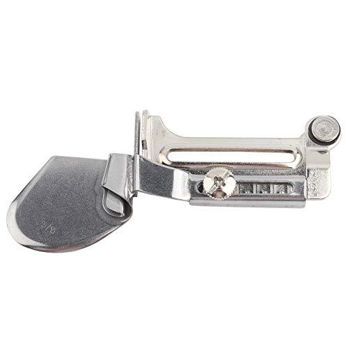 HEEPDD Sewing Binder, Steel Flat Seamer Folder Adjustable Rolled Hem Foot for Home Industrial Sewing Machine Binding Attachment Tape Binder