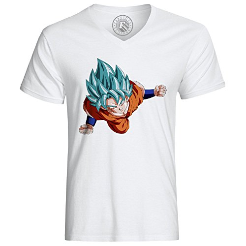 Fabulous T-Shirt Dragon Ball Goku New Blue Super Sayan DBZ