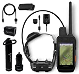 Garmin Alpha 200i/TT 15 Mini Dog Tracking and Training Bundle, Handheld and Collar, Sunlight-readable 3.5' Touchscreen with Wearable4U Power Pack Bundle