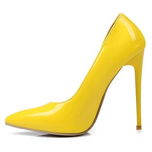Smilice Zapatos de tacón para mujer elegantes con tacón alto de aguja...