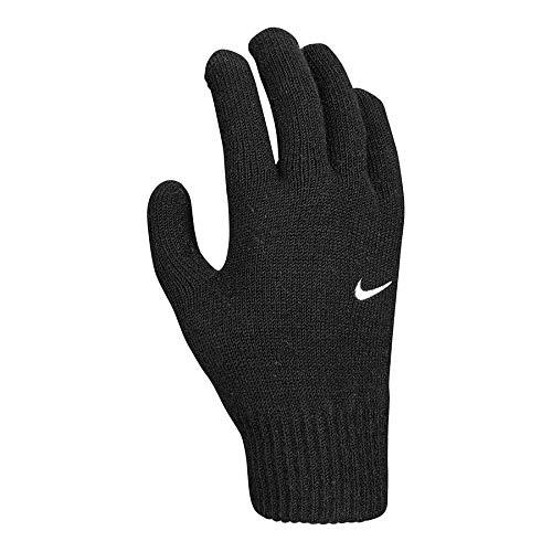 Nike Unisex– Erwachsene YA Swoosh Knit 2.0 Handschuhe, Schwarz, S/M