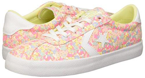 Converse Womens Breakpoint Floral Low Top Sunset Glow/Lemon Haze Sneaker - 9