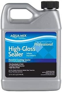 Aqua Mix High Gloss Durable Coating Sealer Quart 32 oz