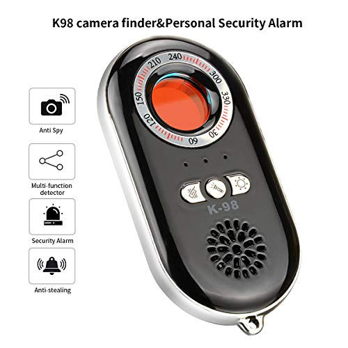 RXAMYDE Personal Security Alarm Anti Spy Hidden Camera Detector