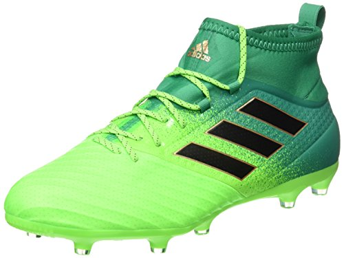 adidas Ace 17.2 Primemesh FG, Scarpe per Allenamento Calcio Uomo, Verde (Versol/Negbas/Verbas), 44 EU