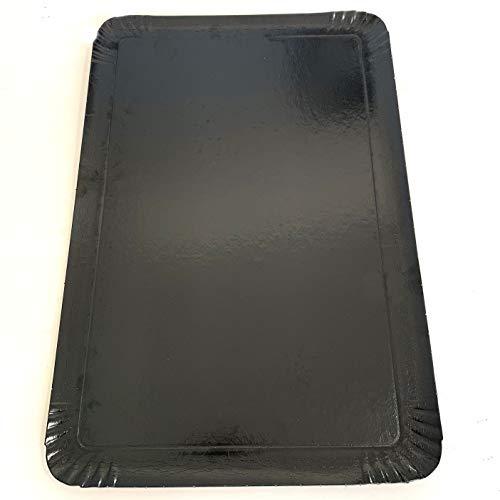 Extiff - Pack de 25 bandejas de cartón, 25 x 34 cm,...