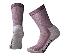 WARM INSULATION: Experience durability at its peak with the Smartwool Women's Medium Crew Hiking Socks. These socks are built for performance in the highest degree, making them ready for any adventure on your list. COMFORTABLE FIT: The Women's Medium...