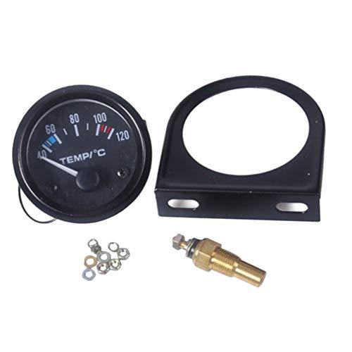 Wakauto 11 Stücke Auto Temperaturanzeige Kit Auto Wassertemperaturanzeige Auto Modifikation Zubehör für Fahrzeug Auto Auto (52Mm)
