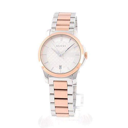 [グッチ] 時計 レディース YA126528 Gタイムレス 腕時計 ウォッチ シルバーゴールド [並行輸入品]