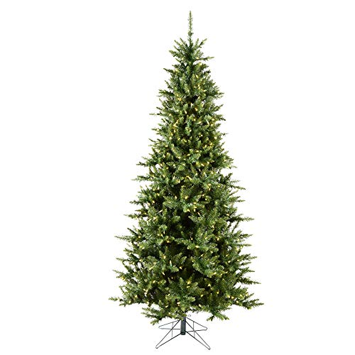 Vickerman 8.5' Camdon Fir Slim Artificial Christmas Tree,...