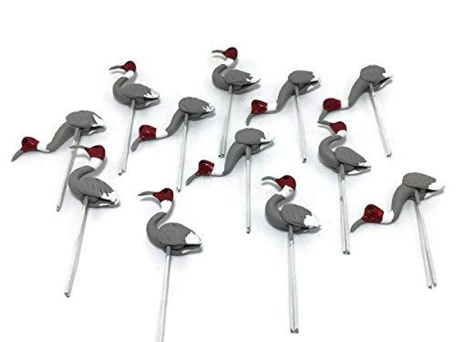 Herr Air Thai Miniatur Viel 12Miniatur Rohrdommel Fairy Garden Supplies Tier Vogel Figur Möbel Puppenhaus GD # 023