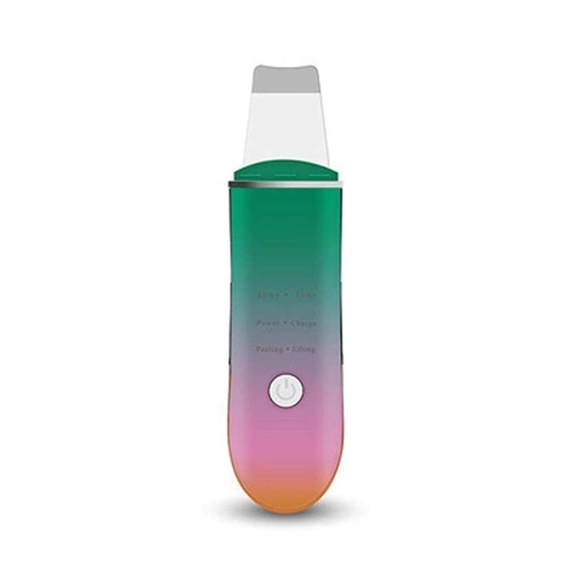 乳情報詩黒ずみを除去するためのフェイシャルスキンスクラバーポータブル超音波フェイススクラバースキンケア剥離しわ除去機クリーナーフェイシャルビューティーデバイス (Color : A1)