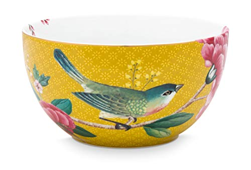 Pip Studio Schüssel Blushing Birds | Yellow - 12 cm