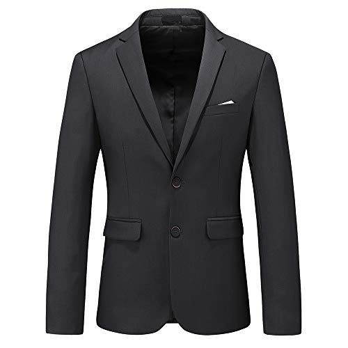 9. UNINUKOO Men's Casual Wedding Tux Blazer