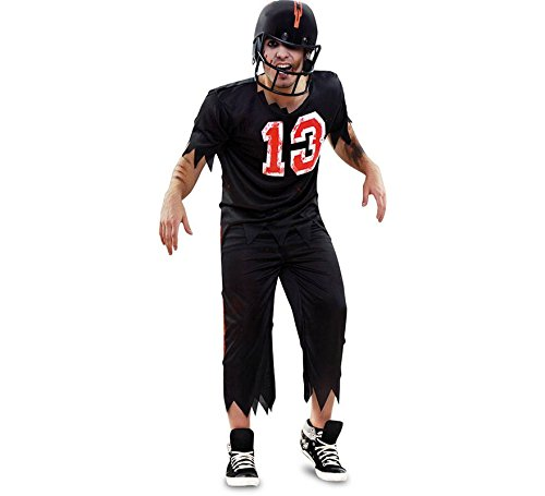 Costume da Giocatore Rugby Zombie per uomo M/L