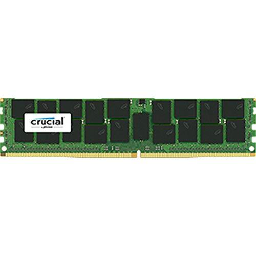 Crucial CT32G4LFD4266 - Kit di memoria DDR4, 32 GB, LRDIMM 288 pin, 2666 MHz/PC4-21300 CL19, con riduzione del carico da 1,2 V, colore: Verde