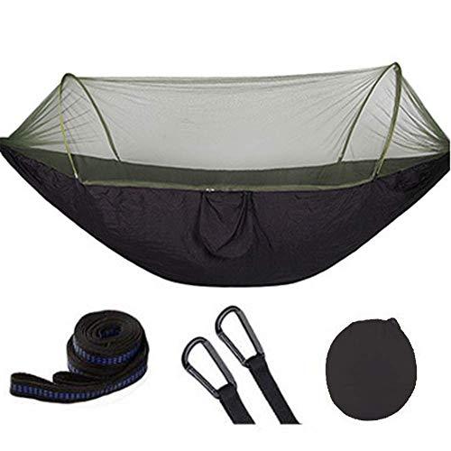 BD.Y Hamac de Camping de Haute qualité avec moustiquaire, hamacs portatifs légers, Parachute, Charge 200KG pour Le Jardin extérieur