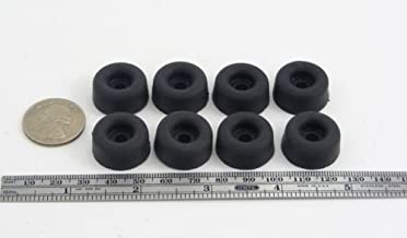 Fits 5//8 Opening White Nylon from DGB Company 12 Snap-in Expandable Locking Plastic Grommets