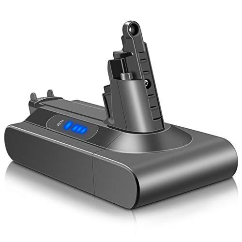ADVNOVO 25,2V 3000mAh V10 Ersatzakku für Dyson V10 Animal Absolute Motorhead Schnurfreier Vakuum-Handstaubsauger, Li-Ionen V10 Batterie
